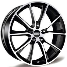 Колёсные диски BBS SV SATIN BLACK DIAMOND CUT