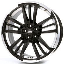 Купить автошины в Минске ATS PRAZISION RACING BLACK DOUBLE LIP POLISHED