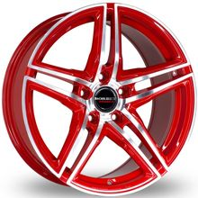 Колёсные диски BORBET XRT RED FRONT POLISHED
